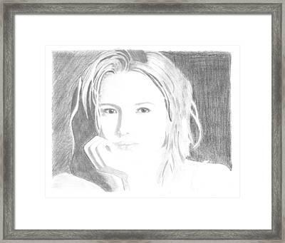 Jewel Framed Print by Gloria MacEachern