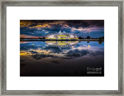 Jewel In The Night Framed Print by Marvin Spates