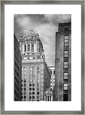 Jewelers' Building - 35 East Wacker Chicago Framed Print by Christine Till