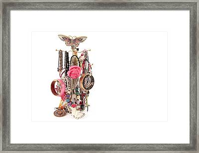 Jewellery Framed Print by Tom Gowanlock