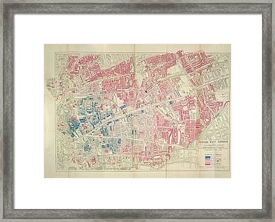 Jewish East London Framed Print by British Library
