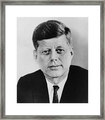 JFK Framed Print by Georgia Fowler