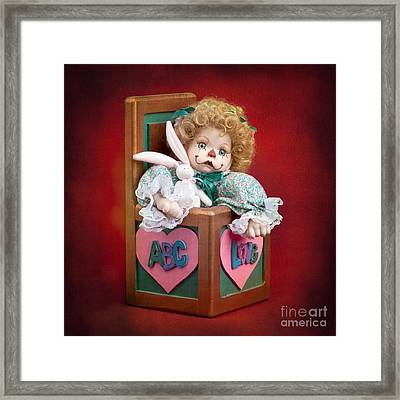 Jill In The Box Framed Print by Cindy Singleton