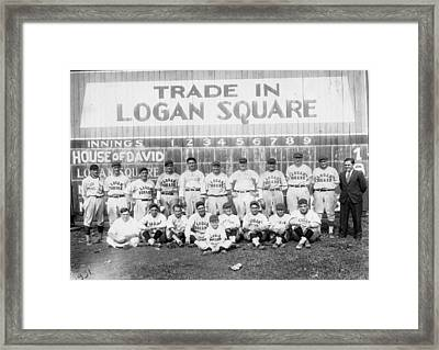 Logan Squares Semi-pro  Framed Print by Retro Images Archive