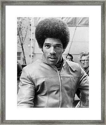 Jim Kelly Framed Print by Silver Screen