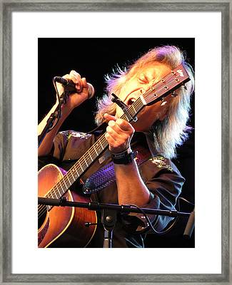 Jim Lauderdale Framed Print by Julie Turner