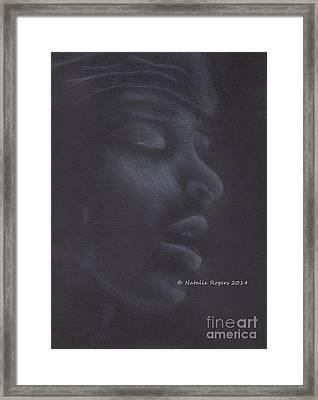 Jimi Hendrix 2 Framed Print by Natalie Rogers