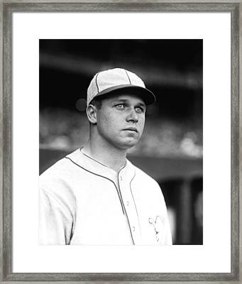 Jimmie Foxx Looking Away Framed Print by Retro Images Archive