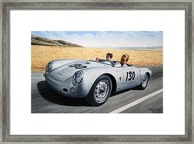 Jimmy And Rolf Framed Print by Ruben Duran