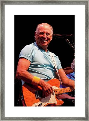 Jimmy Buffett 5626 Framed Print by Timothy Bischoff