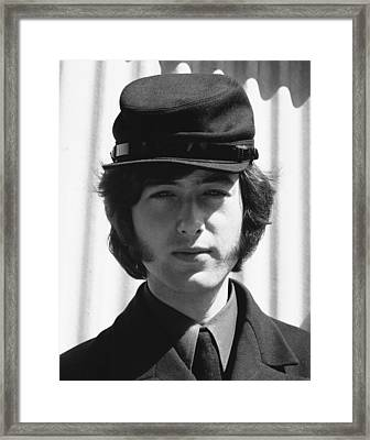 Jimmy Page  1966 Framed Print by Chris Walter