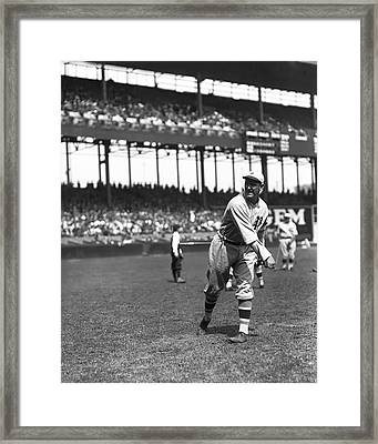 Jimmy Ring Framed Print by Retro Images Archive