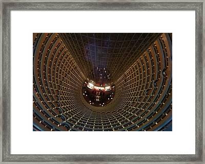Where's The Lobby Framed Print by Debbie Oppermann