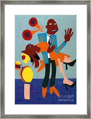 Jitterbugs 5 Framed Print by Pg Reproductions