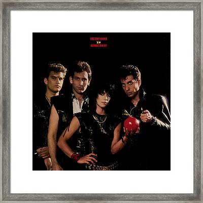 Joan Jett - Cherry Bomb 1984 - Back Cover Framed Print by Epic Rights