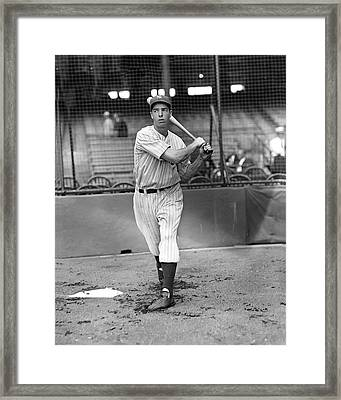 Joe Dimaggio Framed Print by Retro Images Archive
