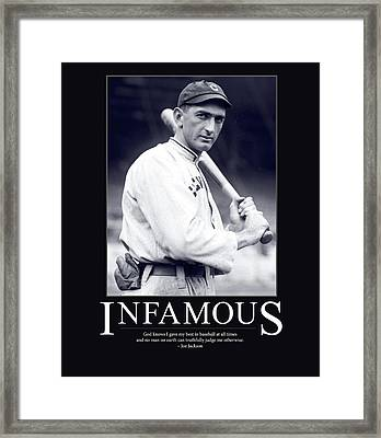 Joe Jackson Infamous Framed Print by Retro Images Archive