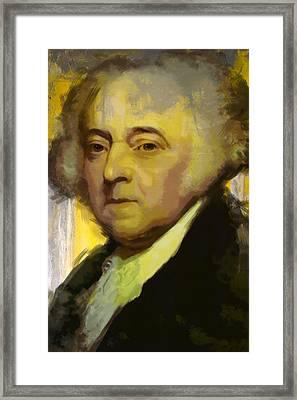 John Adams Framed Print by Corporate Art Task Force