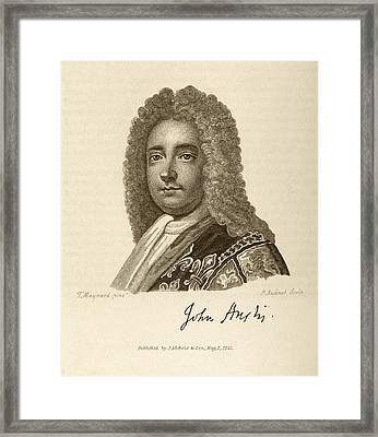 John Anstis Framed Print by Middle Temple Library