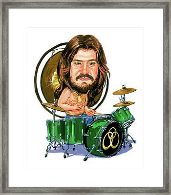 John Bonham Framed Print by Art