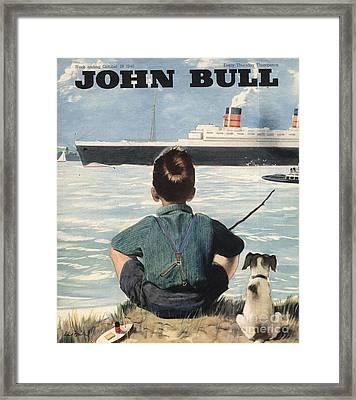 John Bull 1946 1940s Uk Nautical Framed Print by The Advertising Archives