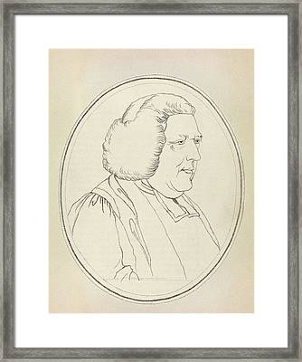 John Burton Framed Print by Middle Temple Library
