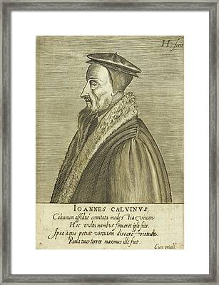 John Calvin Framed Print by British Library