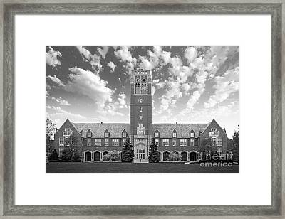 John Carroll University Administration Building Framed Print by University Icons