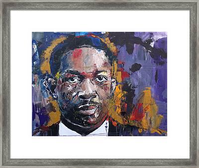 John Coltrane Framed Print by Richard Day