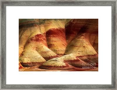 John Day Martian Landscape Framed Print by Inge Johnsson
