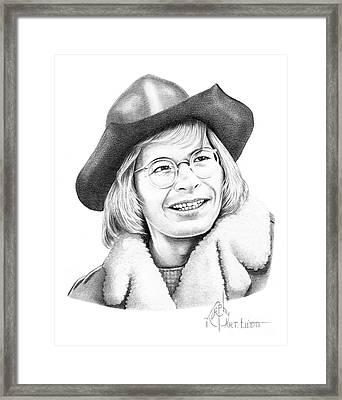 John Denver Framed Print by Murphy Elliott
