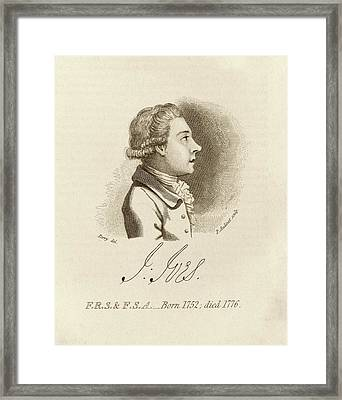 John Ives Framed Print by Middle Temple Library