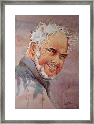John Framed Print by Jeff Chase