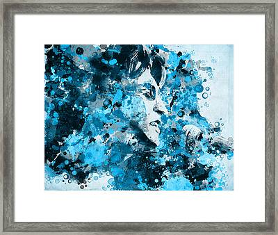 John Lennon 5 Framed Print by Bekim Art