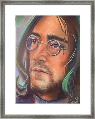 John Lennon Framed Print by Mark Anthony