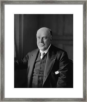John Roll Mclean, Owner And Publisher Framed Print by Everett