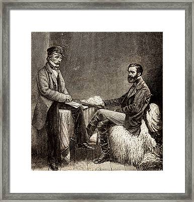 John Sutherland Framed Print by Universal History Archive/uig