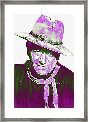 John Wayne In The Man Who Shot Liberty Valance Framed Print by Art Cinema Gallery