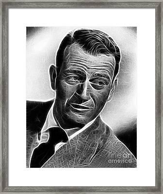 John Wayne Framed Print by Doc Braham