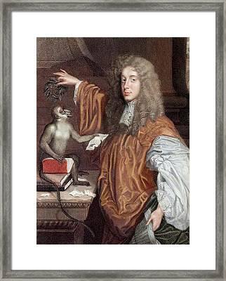 John Wilmot Framed Print by Paul D Stewart