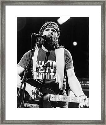Johnny Paycheck Framed Print by Silver Screen