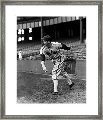 Johnny Rigney Framed Print by Retro Images Archive
