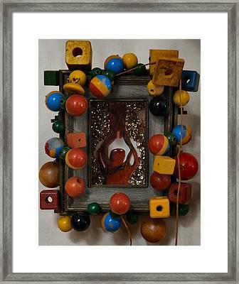 John's Help - Framed Framed Print by Nancy Mauerman