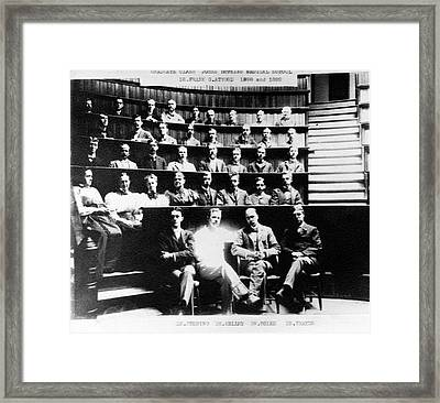 Johns Hopkins Medical School Framed Print by American Philosophical Society