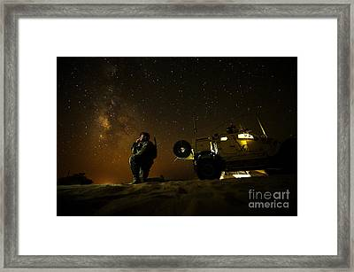 Joint Terminal Attack Controller Framed Print by Paul Fearn