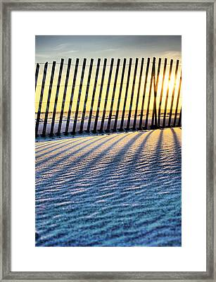 Jones Beach Framed Print by JC Findley