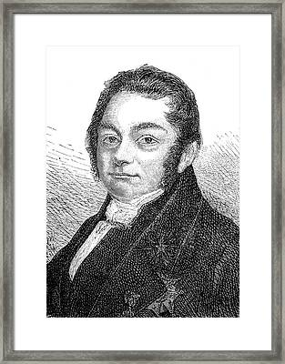 Jons Jacob Berzelius Framed Print by Collection Abecasis