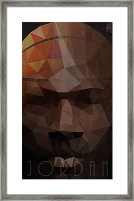 Jordan Framed Print by Daniel Hapi