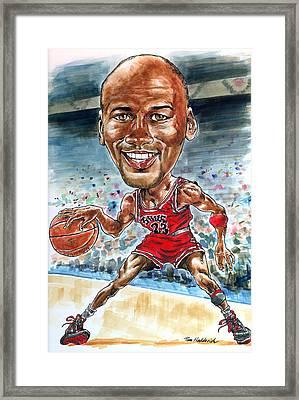Jordan Framed Print by Tom Hedderich