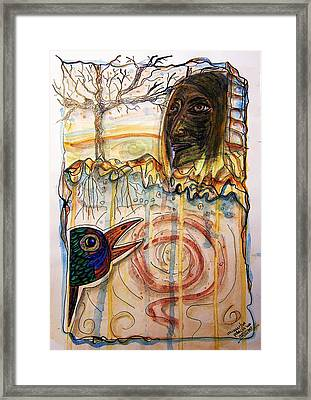 Jorinde And Joringel  Framed Print by Mimulux patricia no